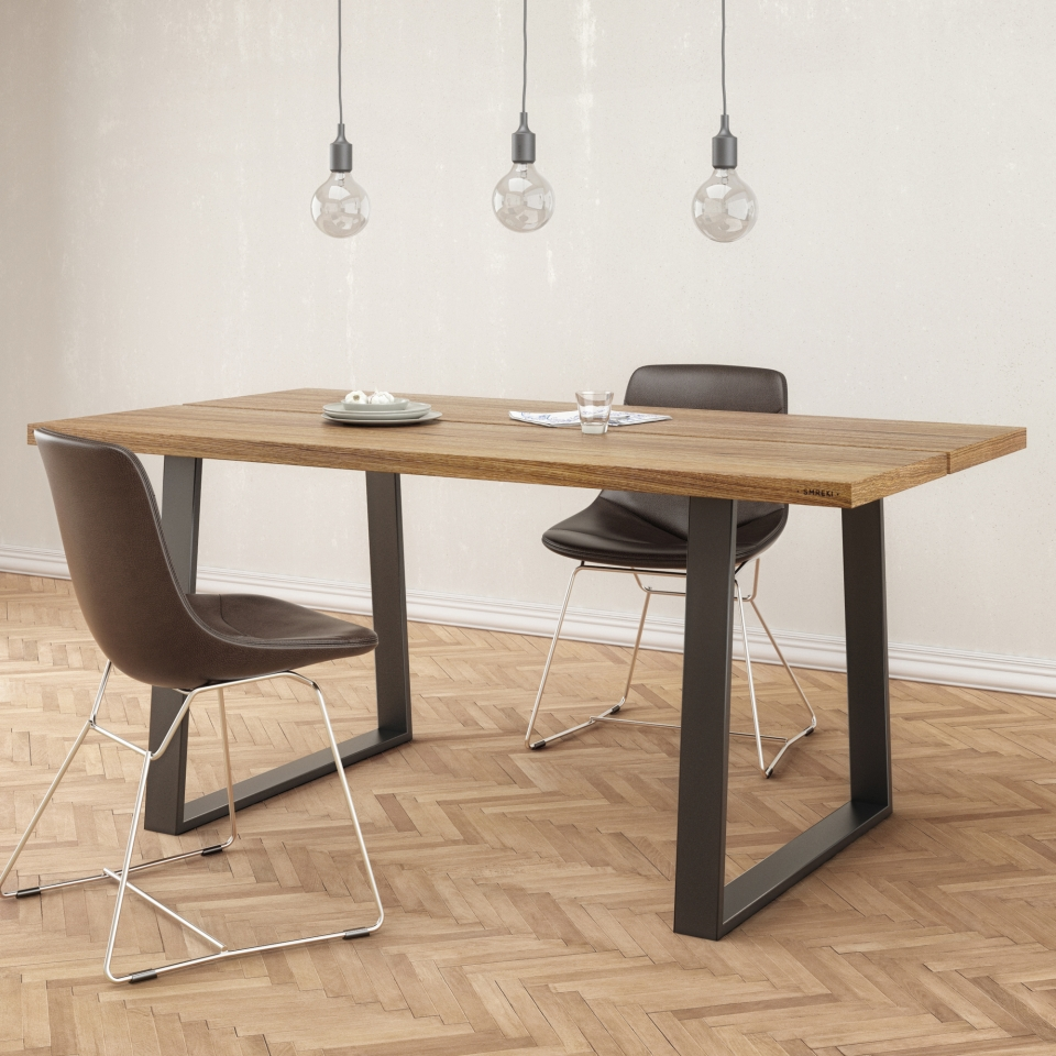 Wood dining table SM005