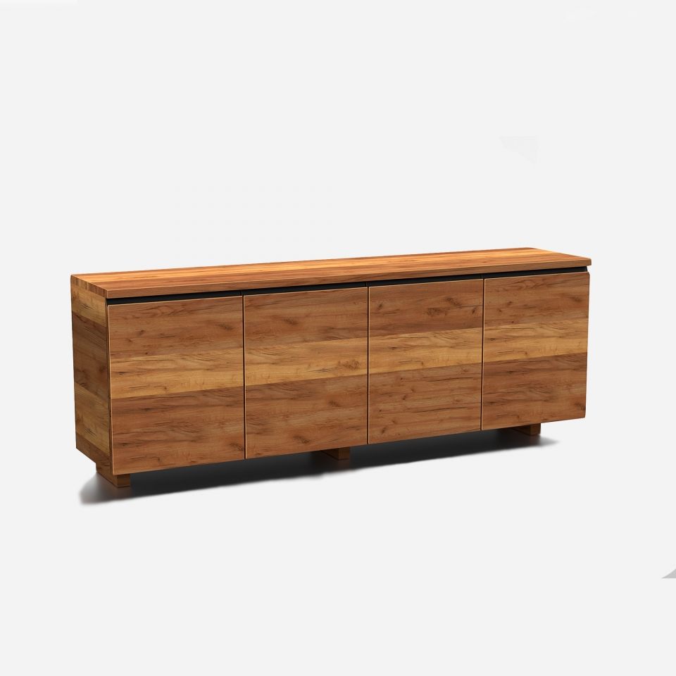Designer wooden chest of drawers