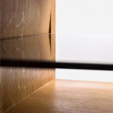 Konsola drewniana