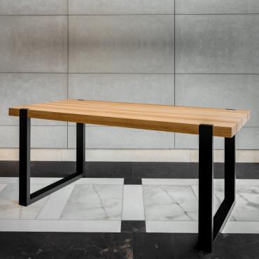 Stolik kawowy okrągły z żywicą